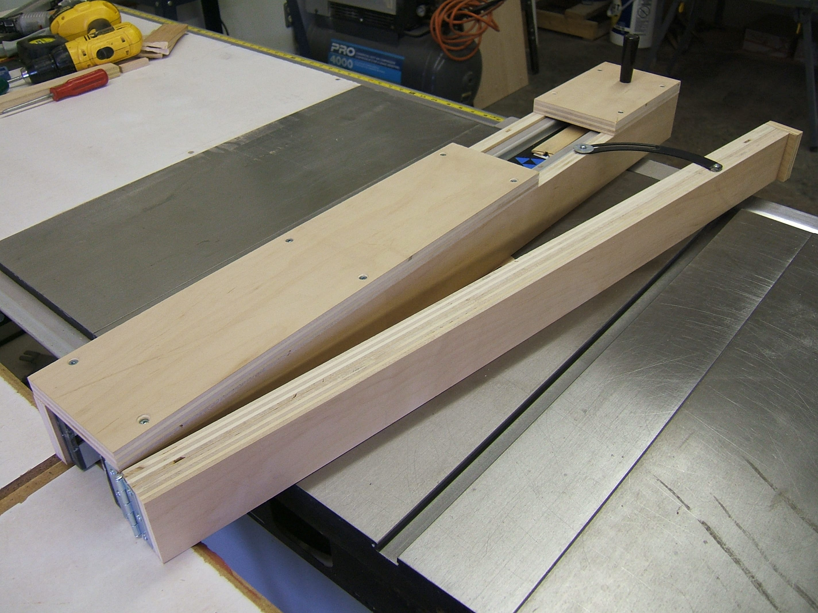 Building A Taper Jig