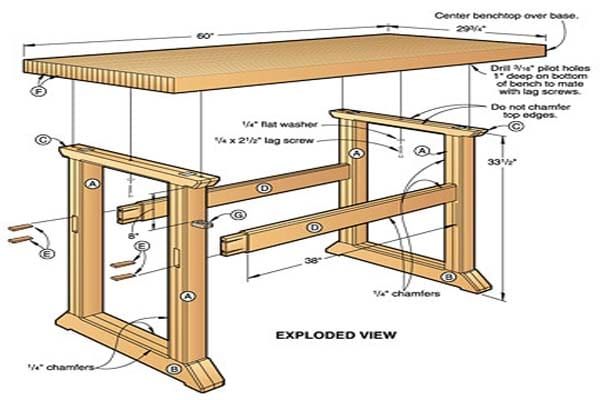 Woodworking Simple Workbench Plans Andybrauer Com