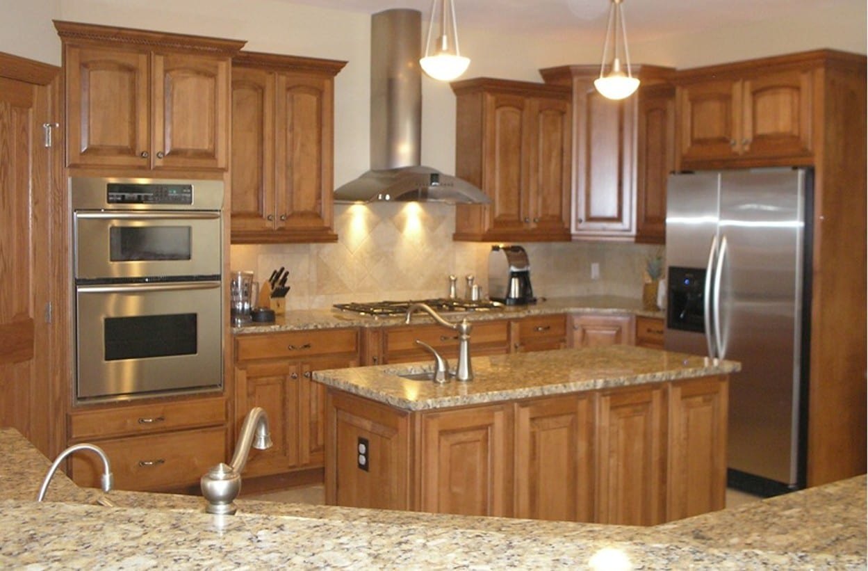 Kitchen wonderful woodworking for Pictures for kitchen