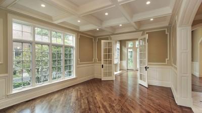 Installing interior trim