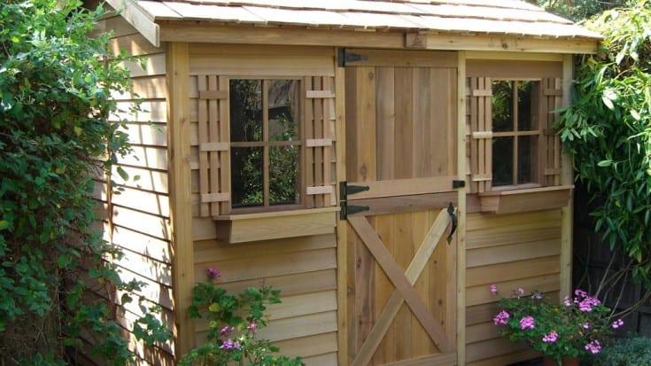 Как построить простой маленький дачный домик —…