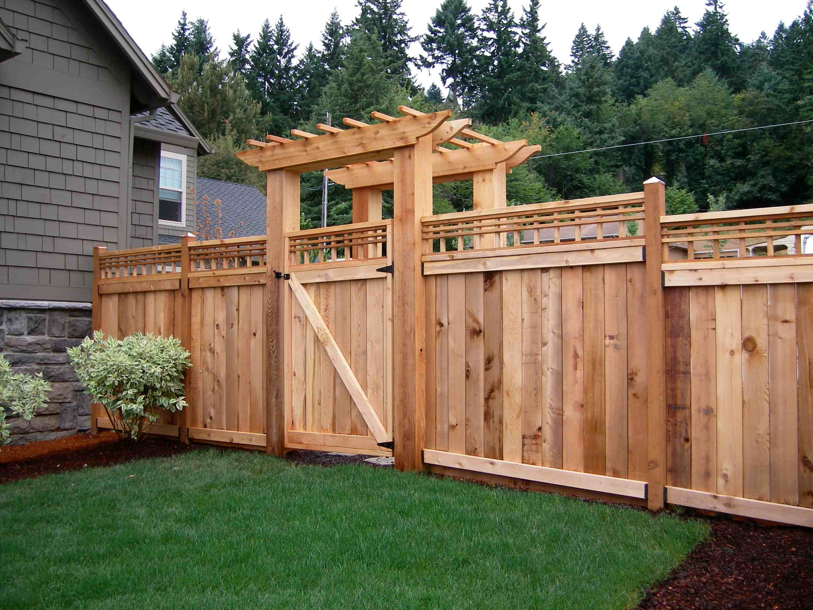Wooden Fence Part - 24: Building A Wooden Fence