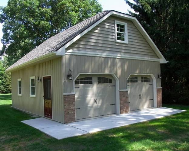 Building a back yard woodworking shop wonderful woodworking for Building a shop house
