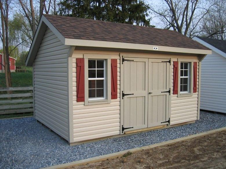 Building a tool shed wonderful woodworking for Garden workshop designs