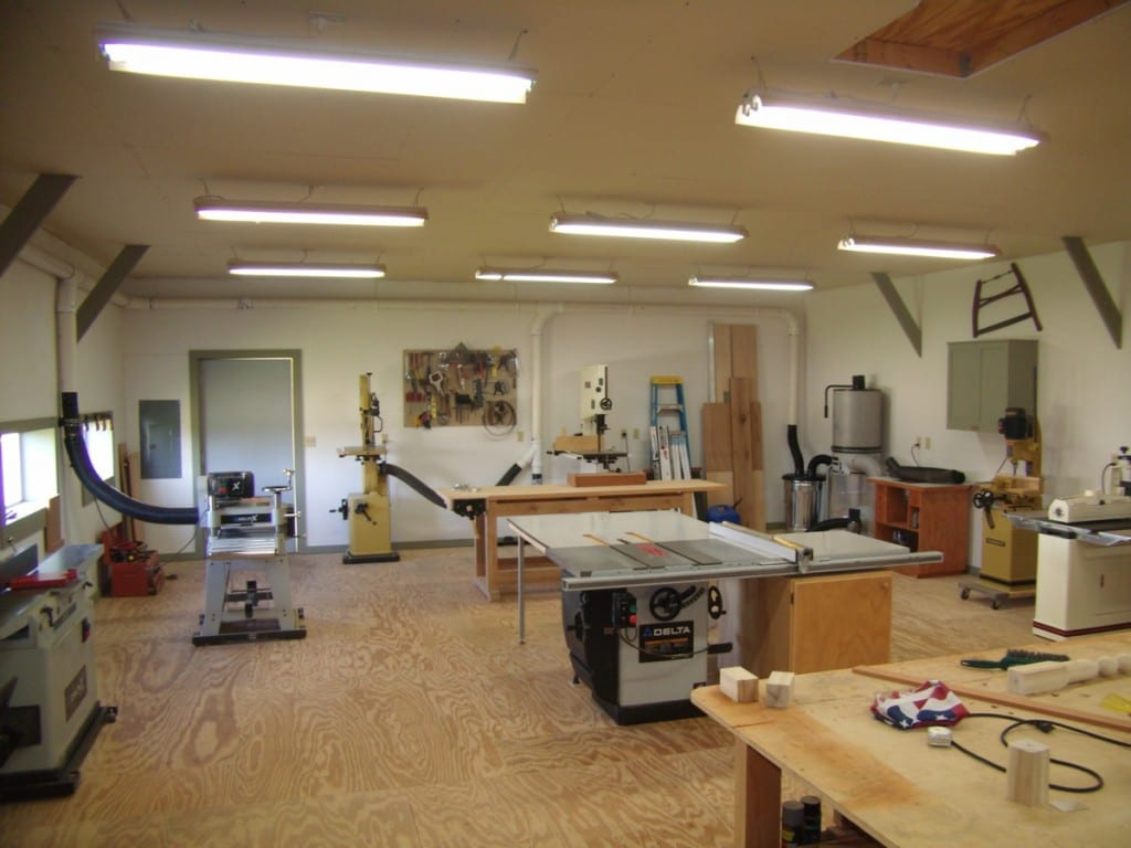 Tool Setup And Maintenance on Woodworking Shop Layout Floor Plans