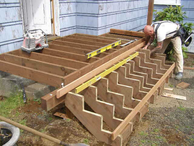 Building deck stairs wonderful woodworking for Building a house step by step