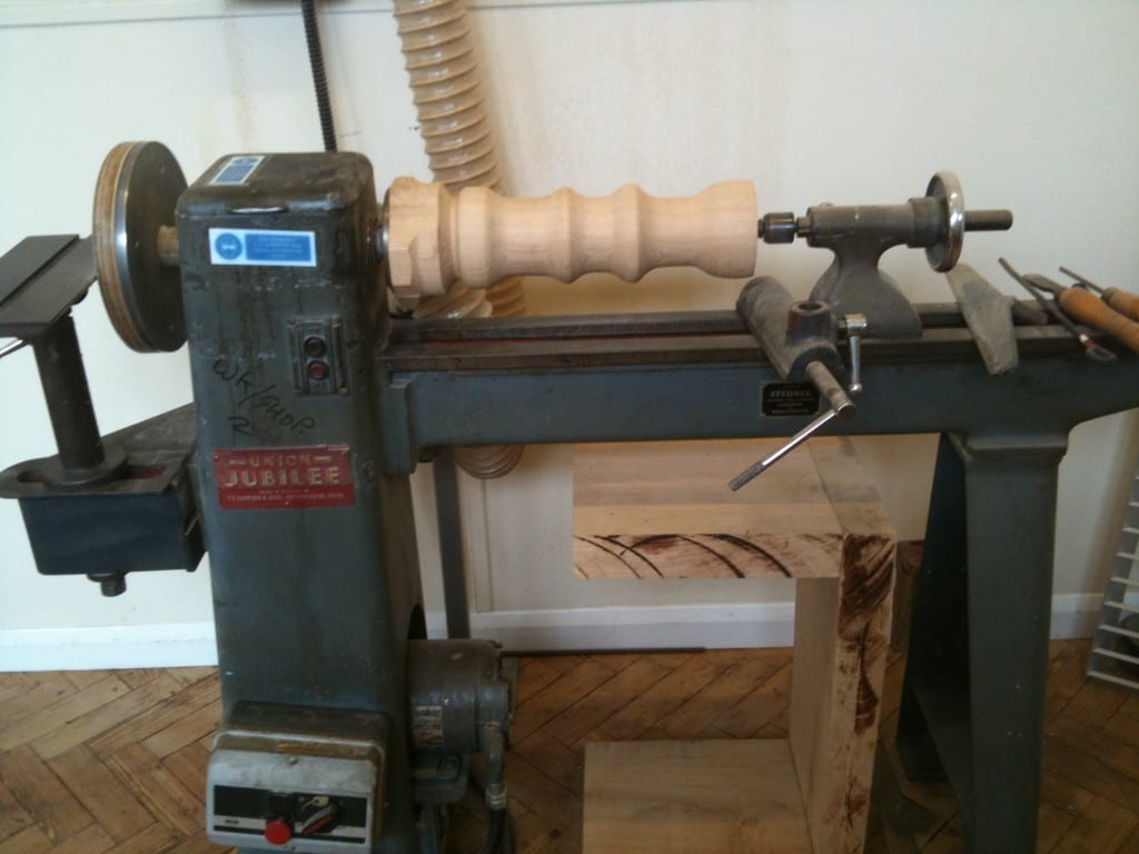 Wood Lathe Turning