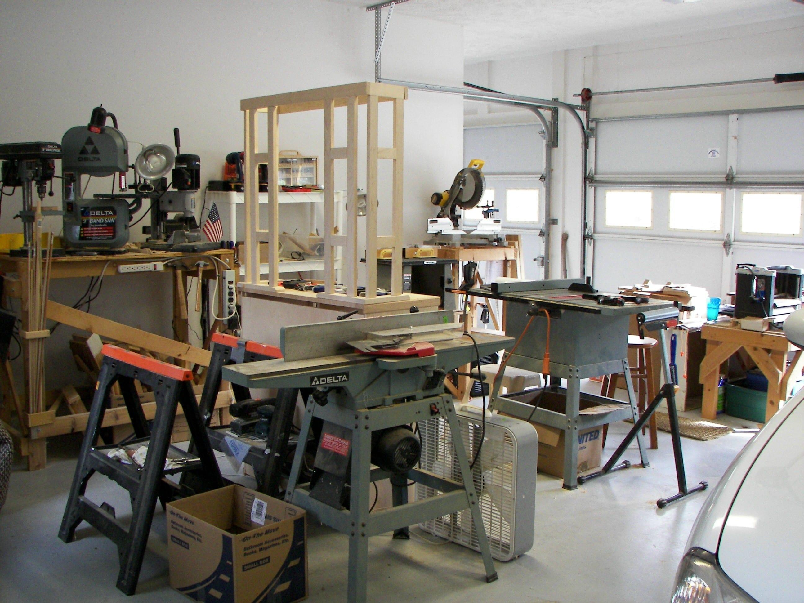 First Woodworking Shop Wonderful Woodworking