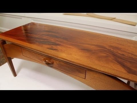a simple way to refinish wood furniture using a wiping varnish a simple way to - How To Refinish Wood Table