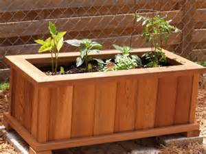 planter box made from cedar fence pickets wonderful woodworking