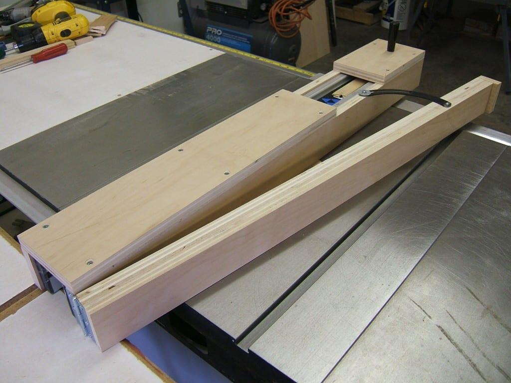 building a taper jig wonderful woodworking