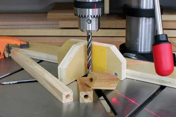 how to cut a hole in wood without power tools