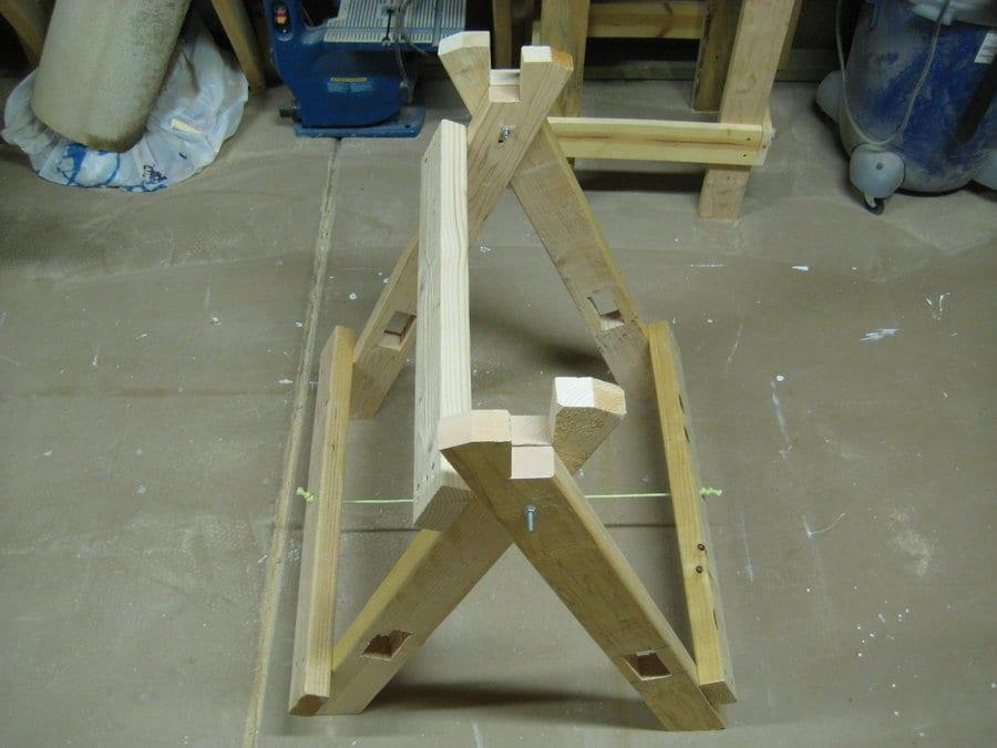 building scissor horses wonderful woodworking. Black Bedroom Furniture Sets. Home Design Ideas