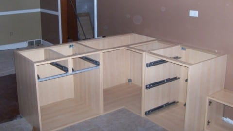 Building european cabinets wonderful woodworking for Building kitchen cabinets