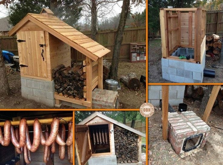 Building a smoke house wonderful woodworking for Fumoir a froid maison