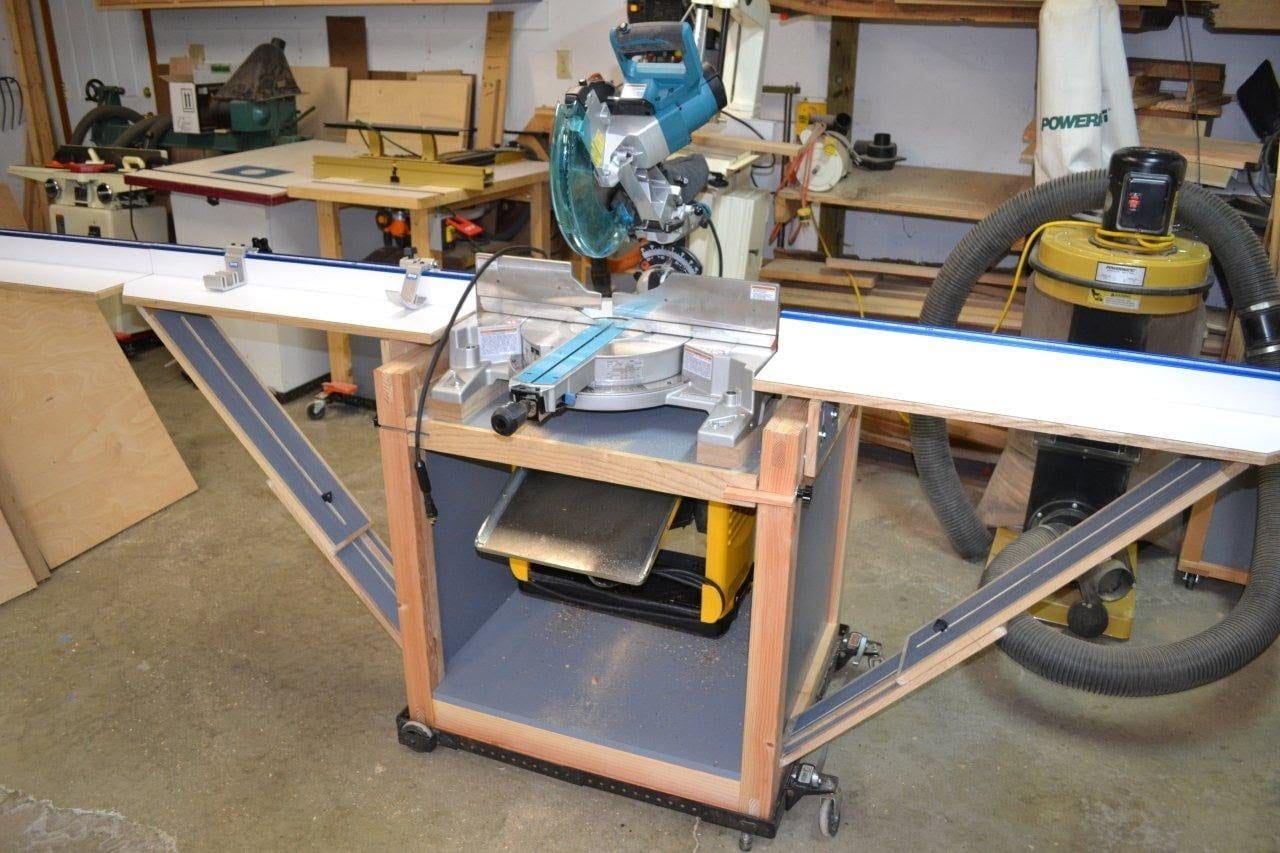 Power Tool Flip Bench Wonderful Woodworking