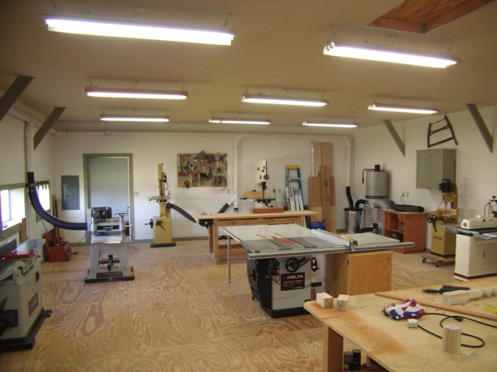 Modern Classroom Arrangement ~ Small woodworking shop layout wonderful