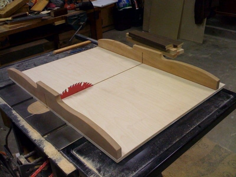 Building A Cross Cut Sled Wonderful Woodworking