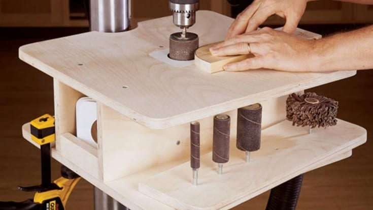 building a spindle sander drill press