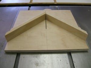 building a table saw miter sled sled