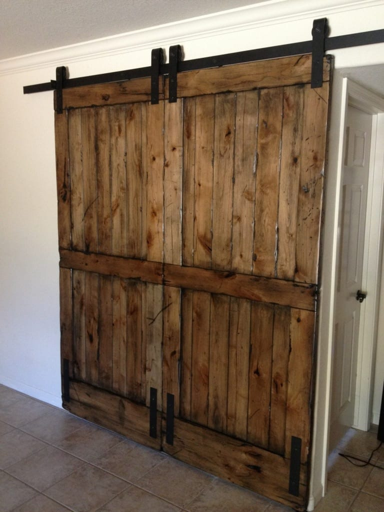 Diy Sliding Barn Doors Wonderful Woodworking