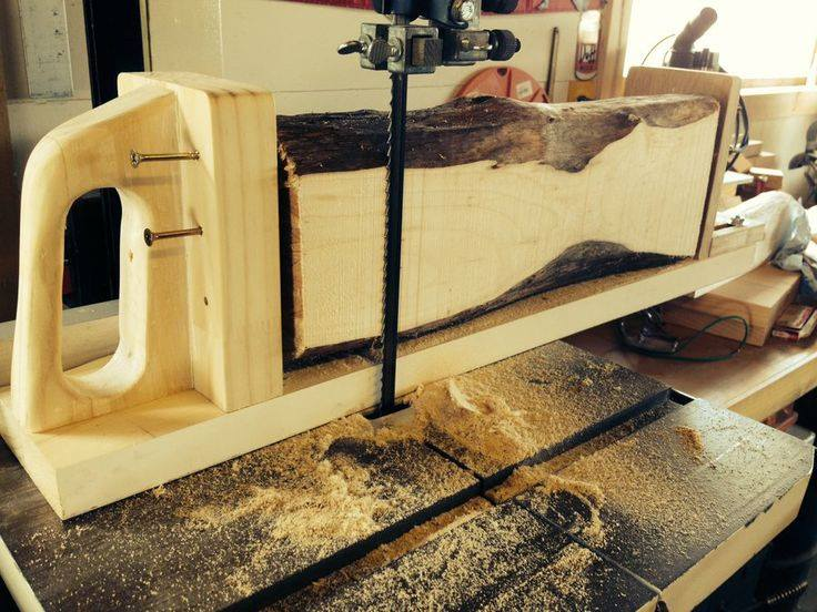 Turning Your Band Saw Into A Sawmill   Wonderful Woodworking